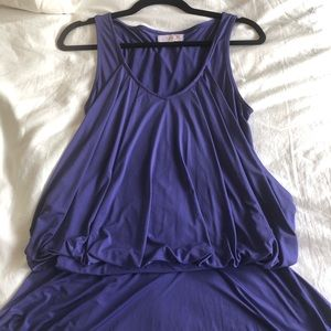 LaROK purple Mini dress Like NEW.